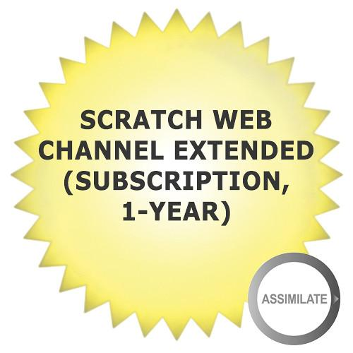 Assimilate SCRATCH Web Channel SCRATCH WEB CH-EXT ANNUAL