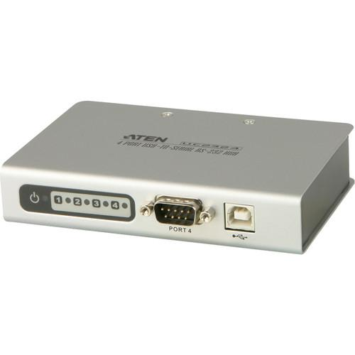 ATEN UC2324 4-Port USB to Serial RS-232 Hub UC2324