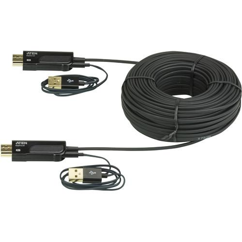 ATEN VE874 HDMI Active Optical Cable (164 ft) VE874