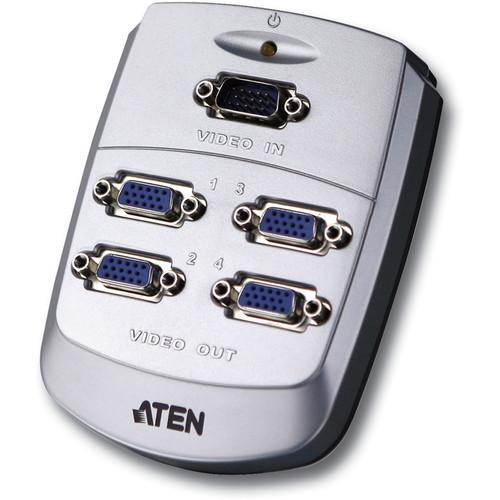 ATEN  VS-84 4-Port Video Splitter VS84