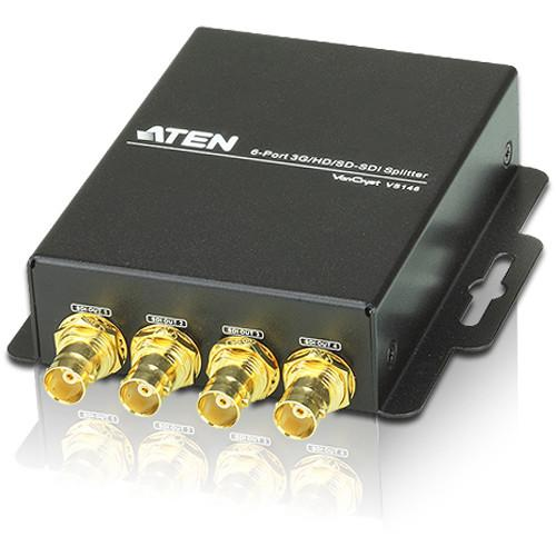 ATEN  VS146 6-Port 3G/HD/SD-SDI Splitter VS146