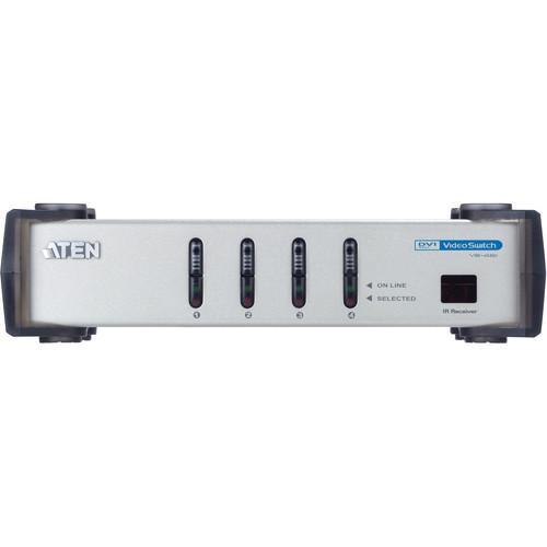 ATEN  VS461 4-Port DVI Video Switch VS461