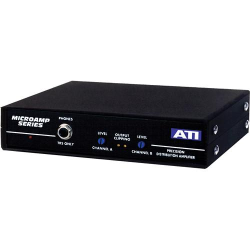 ATI Audio Inc DA2008 Dual 1 x 4 Analog Audio Distribution DA2008