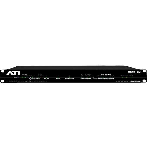 ATI Audio Inc DDA212NBNC Network-Controlled Digital DDA212-N-BNC