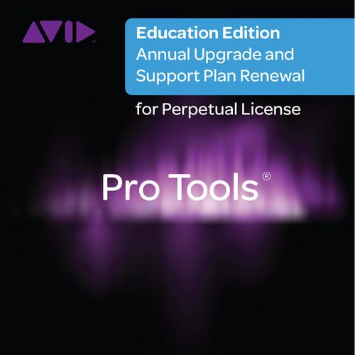 Avid Pro Tools Annual Upgrade and Support Plan 99356590000