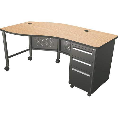 Balt  Instructor Teacher's Desk II (Oak) 90591
