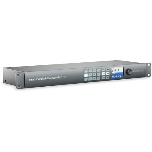 Blackmagic Design Smart Videohub CleanSwitch 12 VHUBSMTCS6G1212