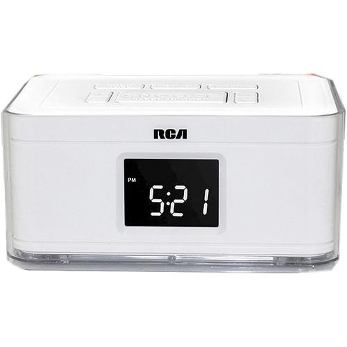 Bolide Technology Group Dual Alarm Clock Hidden BM3738-WHITE