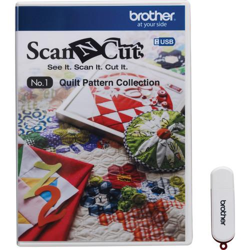 Brother USB No. 1 Quilt Pattern Collection for ScanNCut CAUSB1
