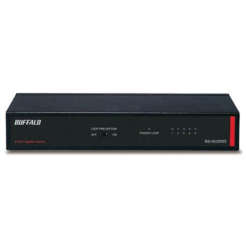 Buffalo BS-GU2005 5 Port Green Ethernet Gigabit Switch BS-GU2005