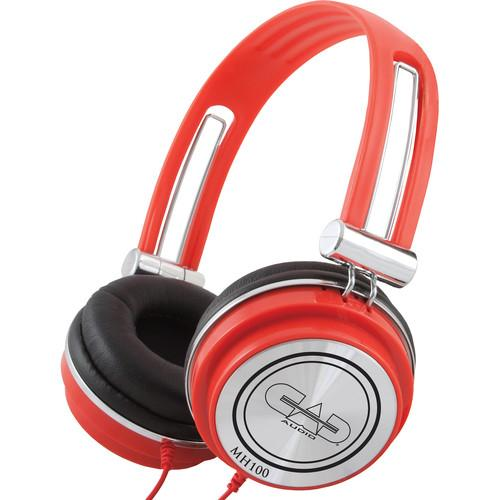 CAD  MH100 Studio Headphones (Red) MH100R