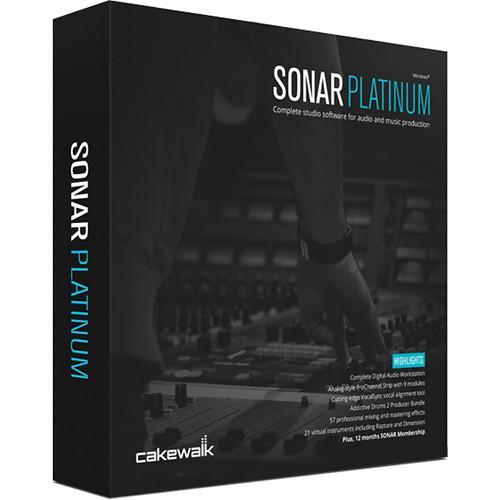 user manual cakewalk sonar platinum upgrade recording 10 cspt1 00 rh pdf manuals com Owner's Manual cakewalk sonar user manual