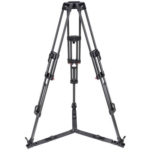 Camgear T100/CF2 2-Stage 100mm Bowl Tripod with Ground T100/CFL2