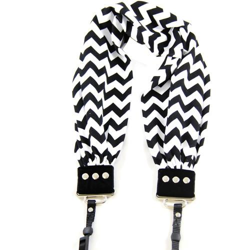 Capturing Couture  Scarf Camera Strap SCARF-CVBL