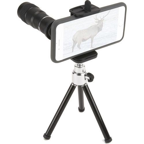 Carson HookUpz Smartphone Telephoto Lens Adapter and IC-918