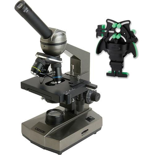 Carson MS-100UN Biological Monocular Microscope Kit MS-100UN