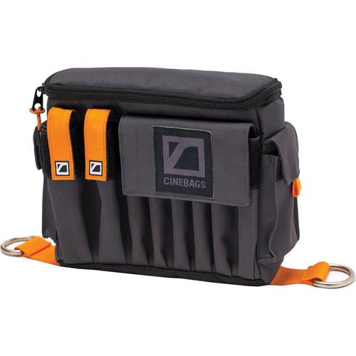 CineBags CB07 AC Pouch XL (Gray with Orange Webbing) CB07