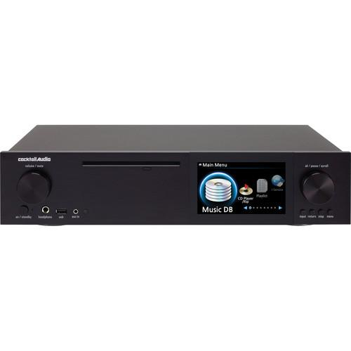 cocktailaudio X40 DSD and DXD Audio DAC and CD Player COAUX40BL