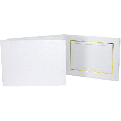 Collector's Gallery Classic White Folder with Gold PF551064.BH25