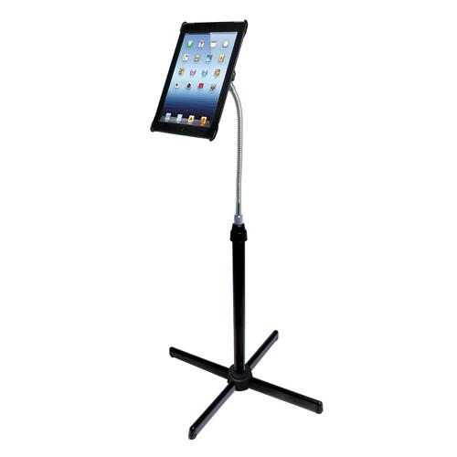 CTA Digital Height-Adjustable Gooseneck Floor Stand PAD-AFS
