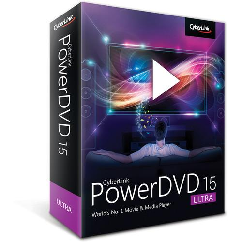 CyberLink PowerDVD 15 (Ultra Edition, Boxed) DVD-EF00-RPU0-00
