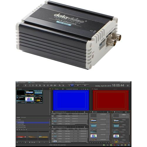 Datavideo CG-500TC Kit with CG-500 HD/SD Graphics CG-500TC KIT