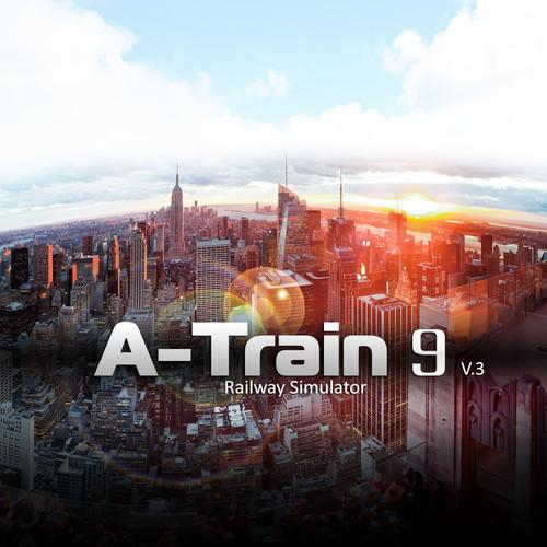 DEGICA A-Train 9 V3.0: Railroad Simulator Steam AT9V3-STEAM-ESD