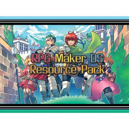 DEGICA RPG Maker VX Ace DLC: DS Resource Pack RPGMVX-DLCDSRP-ESD
