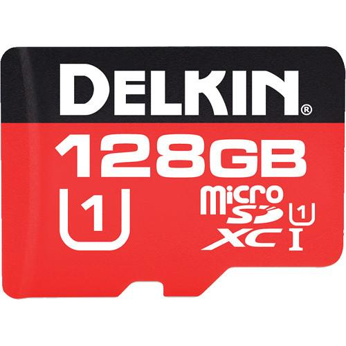Delkin Devices 128GB UHS-I microSDXC Memory Card DDMSD3751H