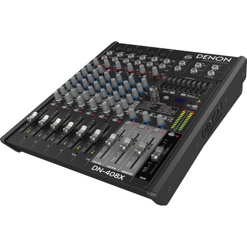 Denon DN-408X 2-Bus Tabletop Mixer (8-Channel) DN-408X