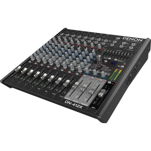 Denon DN-412X 2-Bus Tabletop Mixer (12-Channel) DN-412X
