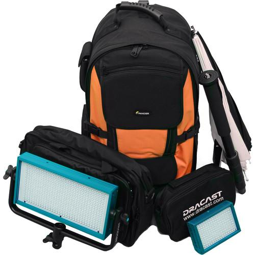 Dracast Outdoor Bi-Color Kit with 1-LED500B and 1- DR-OUTK-BG