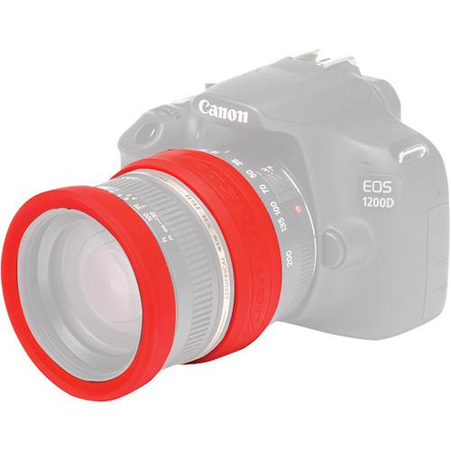 easyCover  62mm Lens Rim (Red) ECLR62R