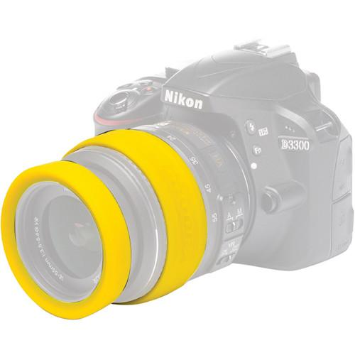 easyCover  62mm Lens Rim (Yellow) ECLR62Y