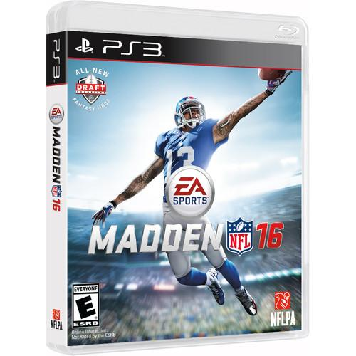 Electronic Arts  Madden NFL 16 (PS3) 36856