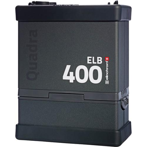 Elinchrom ELB 400 Quadra Battery-Powered Pack EL10279.1