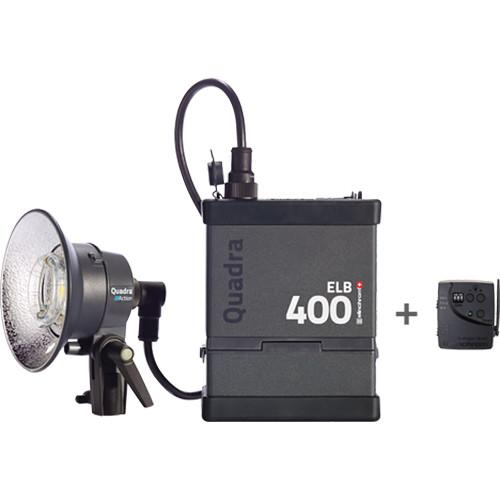 Elinchrom Quadra ELB 400 One Action Head To Go Kit EL10412.1