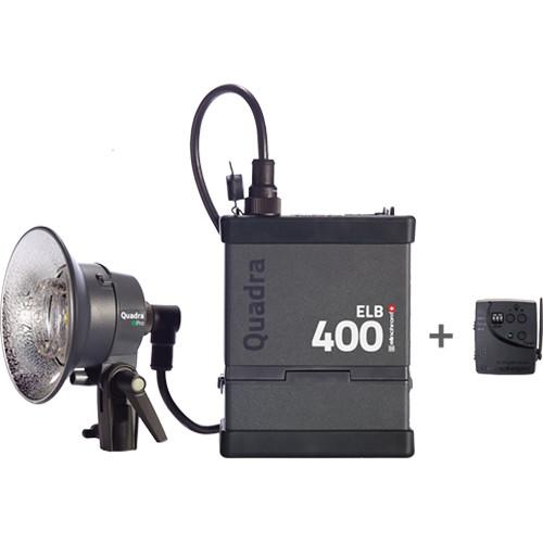 Elinchrom Quadra ELB 400 One Pro Head To Go Kit EL10413.1