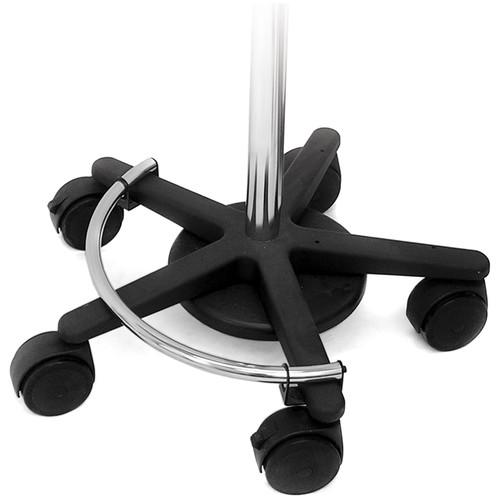 Ergotron Mobile Workstand Base and Casters (Black) 33-061