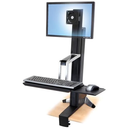 Ergotron WorkFit-S Single LD Monitor Sit-Stand 33-342-200
