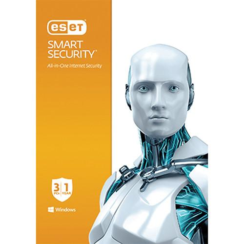 ESET Smart Security (3-PCs, 1-Year, Download)