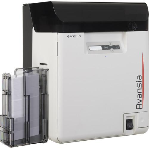 Evolis Avansia Duplex Retransfer Card Printer AV1HBHLBBD
