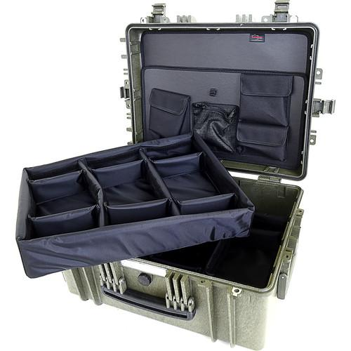 Explorer Cases 5325 Case with DIVIDER-V and ECPC-5325KTGD