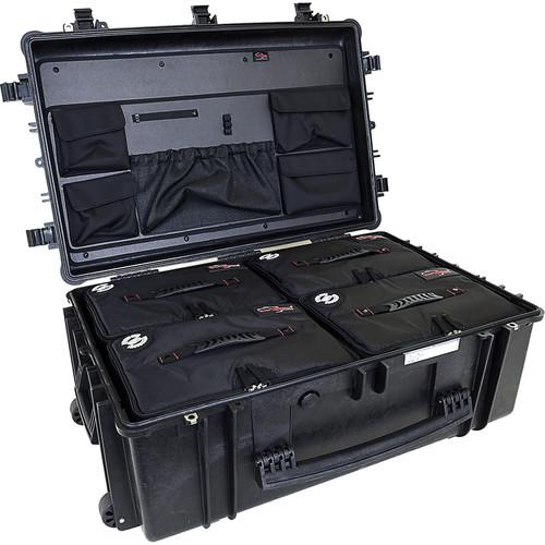 Explorer Cases 7630 Case with 4 BAG-Ls and ECPC-7630KTBL