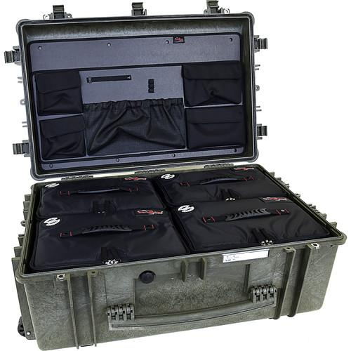 Explorer Cases 7630 Case with 4 BAG-Ls and ECPC-7630KTGL