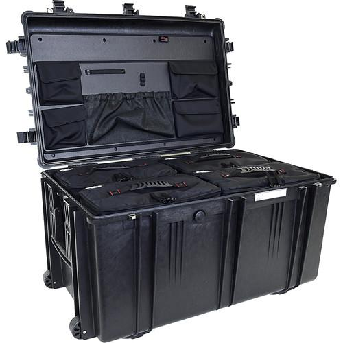 Explorer Cases 7641 Case with 4 BAG-Os and ECPC-7641KTBO