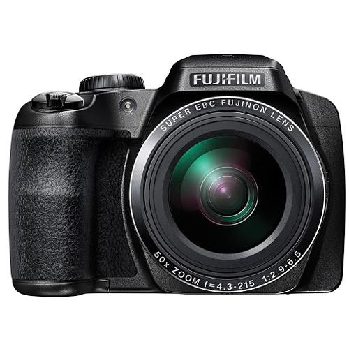 Fujifilm FinePix S9900W Digital Camera Deluxe Kit (Black)