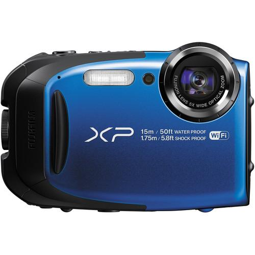 Fujifilm FinePix XP80 Digital Camera Deluxe Kit (Blue)