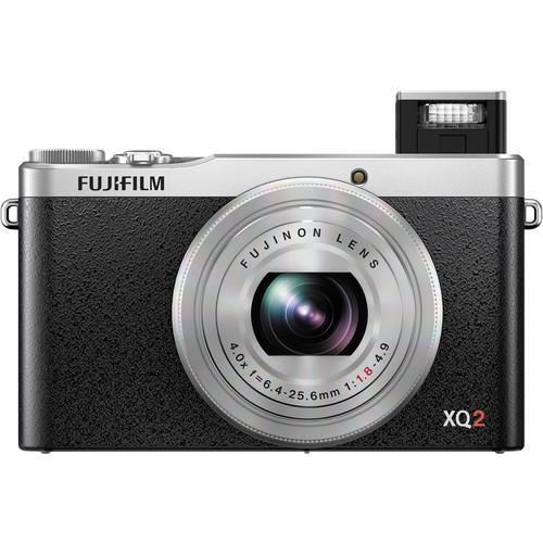 Fujifilm  XQ2 Digital Camera Deluxe Kit (Silver)