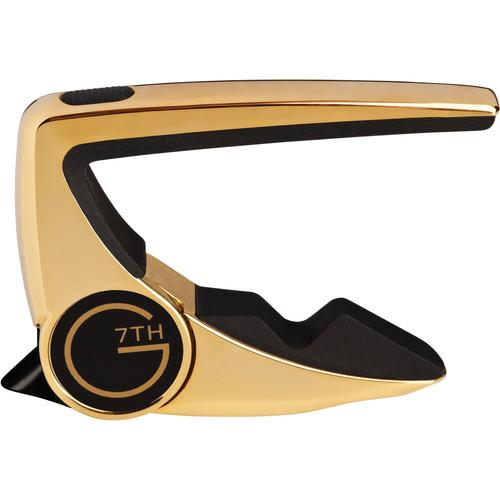 G7th Performance 2 Capo for Steel String G7 PERF 2 6 STRING GOLD